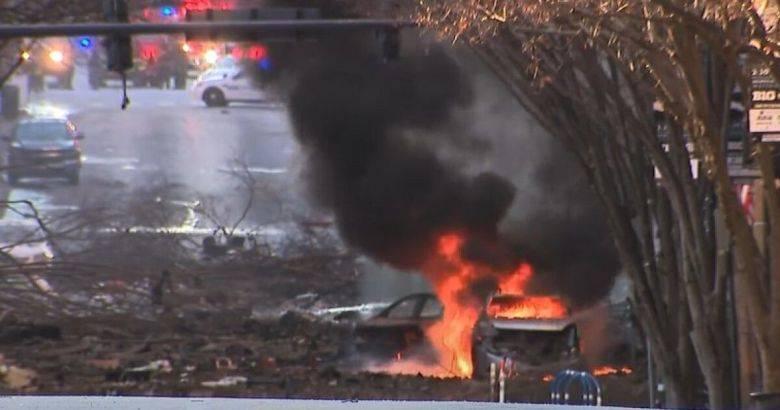 В США взорвался заминированный автомобиль (фото, видео)