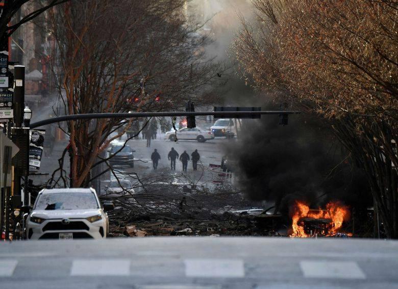 Трампа проинформировали о взрыве в Нэшвилле - РИА Новости, 25.12.2020