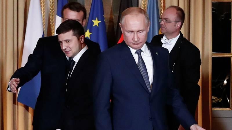 Офис президента Украины Зеленского начал работу над встречей с президентом РФ Путиным