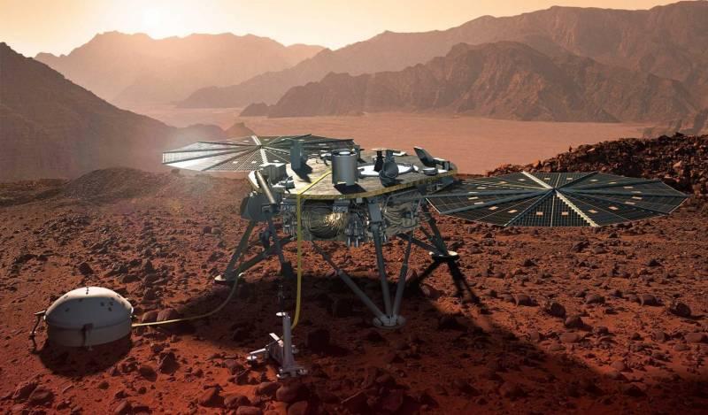 Зонд Insight предоставил сведения о строении Марса и его ядре